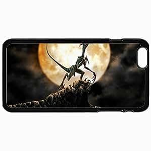Fashion Unique Design Protective Cellphone Back Cover Case For iPhone 6 Plus Case Dinosaur Black