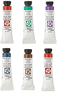 Daniel Smith 285610005 Extra Fine Essentials Introductory Watercolor, Blue, 5ml