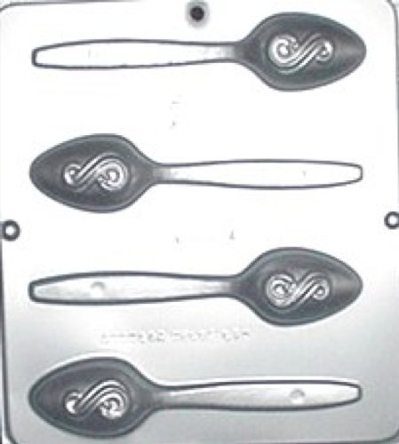 Spoon Chocolate Candy Mold 1307