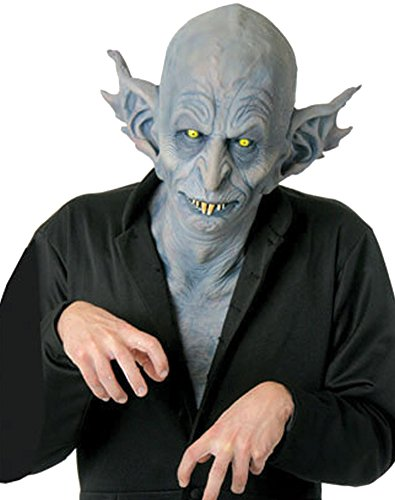 SALES4YA Scary-Masks Nosferatu Mask Latex Halloween Costume - Most Adults -