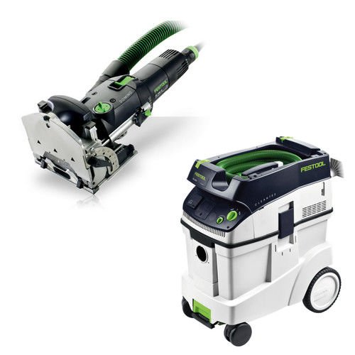 Festool DF 500 Q Domino with T-LOC + CT 48 Dust Extractor Package by Festool