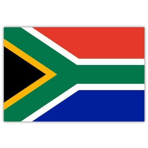 New South Africa drapeau 5 ft x 3 ft (NEWSA WWF -)