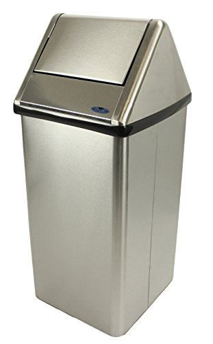 Frost Products Frost 301 NLS Waste Receptacle, Metallic