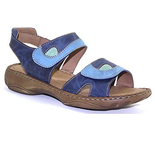 Debra Josef multicolore Bleu Sandales Seibel Femme 6SxSq7