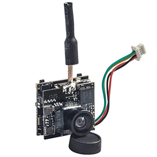 Wolfwhoop WT05-DVR AIO Micro Camera with DVR and 5.8GHz 25mW FPV Transmitter for FPV Quadcopter Drone by Wolfwhoop