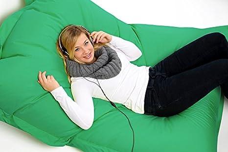 Sconosciuto pouf xl xxxxl cuscino da pavimento sacco per interni