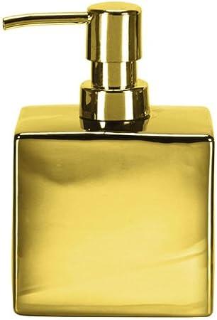 Gedy Glamour Jabonera de Sobremesa 2x12x8.5 cm Porcelana Oro
