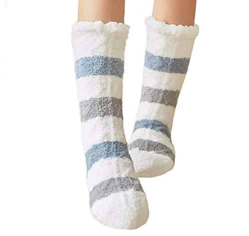 Slipper Socks Women Girls Premium Soft Home Socks Size 4 5 6 7 8 NON SLIP Novelty Owl Dog Cat Fluffy and Furry Slipper Sock Beautiful Present