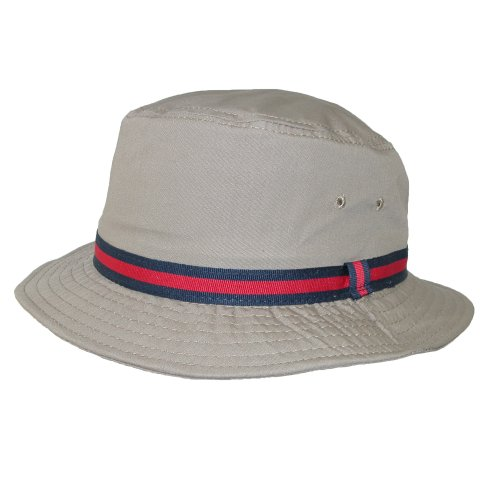 Dorfman Pacific Bucket Hat Water Repellent- (Retro Bucket Hat)