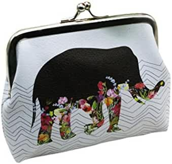 Clutch Handbag Wallets,Hemlock Women Girl Wallet Card Holder Bags Coin Purse (White)