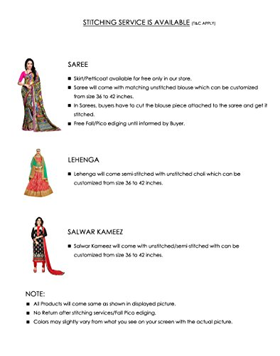 Multicolor Sari Facioun Wear Wedding Women Indian Da Sarees Party for Designer Traditional UOqOBnwv1