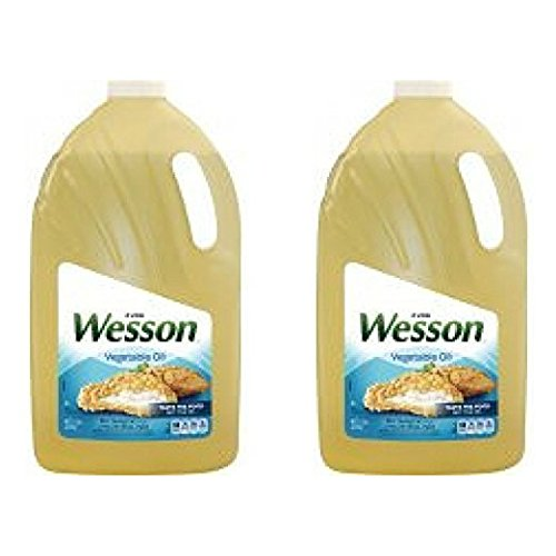 Wesson Vegetable Pure Natural Oil, 1 Gal - Pack of 2 by Wesson