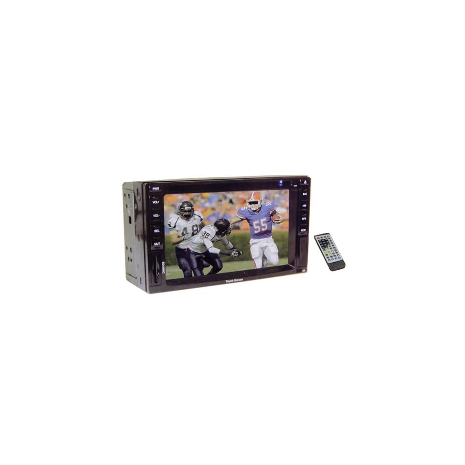 Teknique ICBM 9723 6.2 In TFT Touch Screen,Double Din,Dvd Player