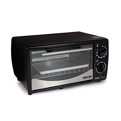 0.32 Cubic Foot Toaster Oven Broiler Color: Black by Better Chef