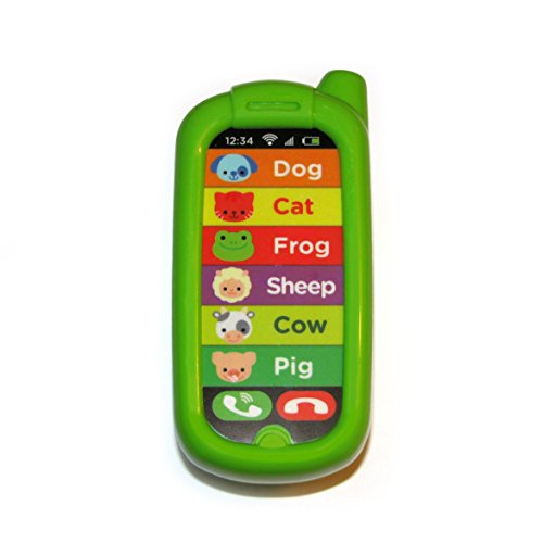 Learn Telephone (Replacement Phone for Vtech Sit-to-Stand Learn & Discover Table)