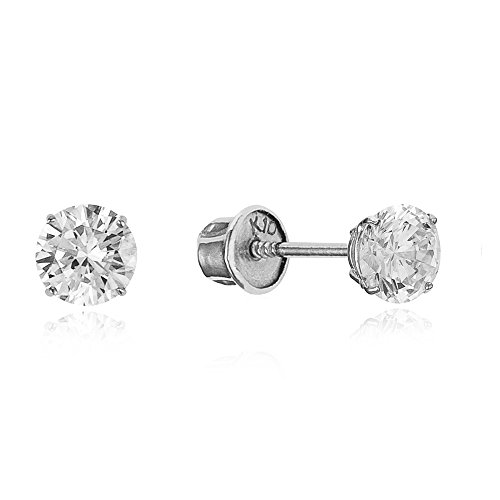 10k-white-gold-4mm-basket-round-cz-cubic-zirconia-solitaire-children-screw-back-baby-girls-earrings
