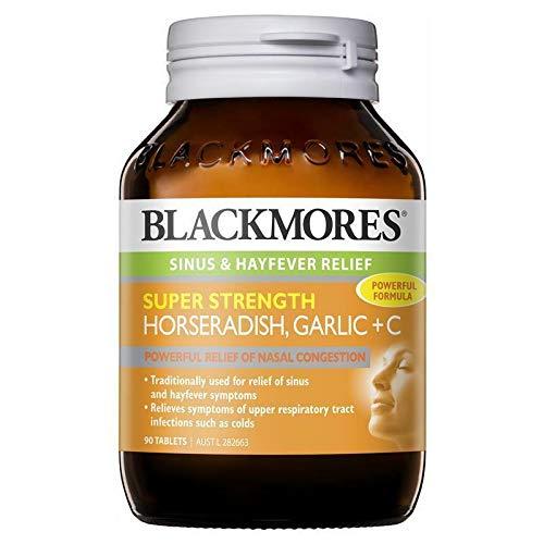 Blackmores Super Strength Horseradish Garlic + C 90 Tablets