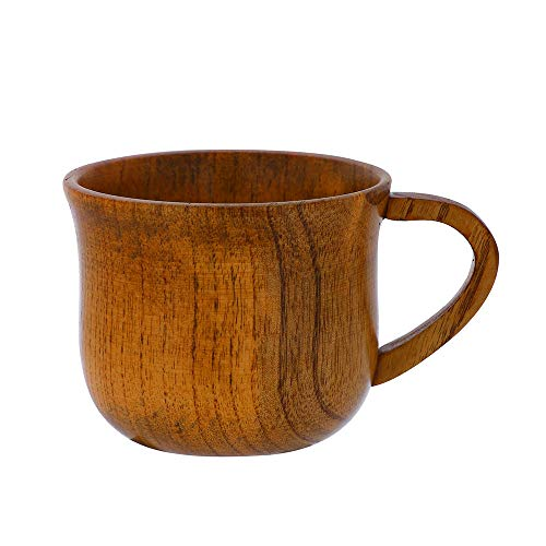 Euone  Cups Clearance , Wooden Cup Log Color Handmade Natural Wood Coffee Tea Beer Juice Milk -