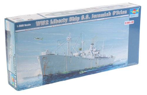 Trumpeter 1/350 Scale SS Jeremiah O'Brien WWII Liberty Ship