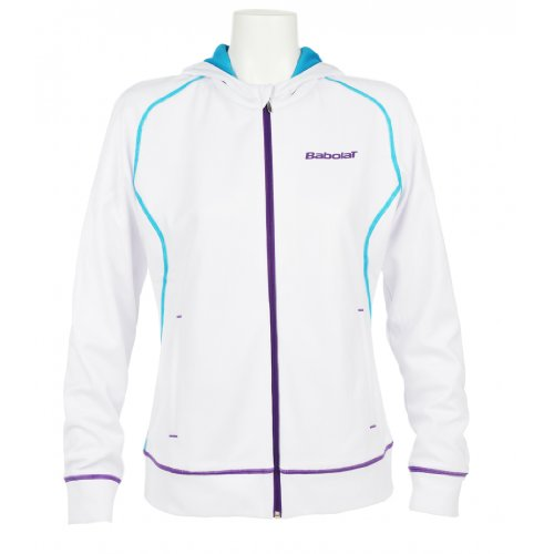 BABOLAT Match Performance Ladies Sweat Top, White, XS