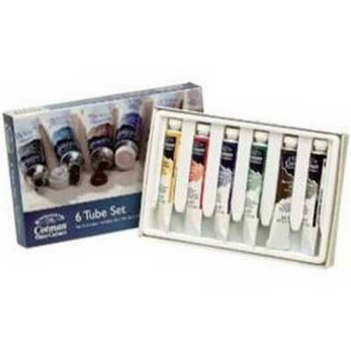 Cotman Watercolour 6 Tube Set The Range