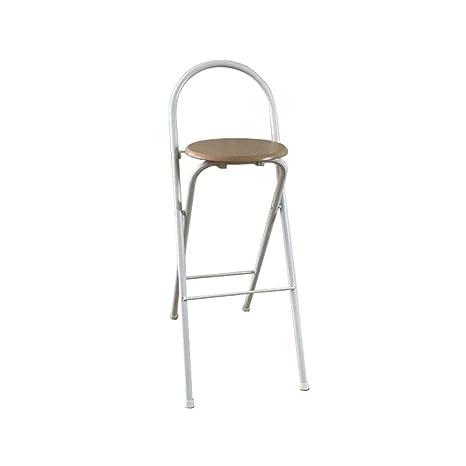 Strange Amazon Com Llyu Simple Bar Chair Folding High Stool Bar Ncnpc Chair Design For Home Ncnpcorg
