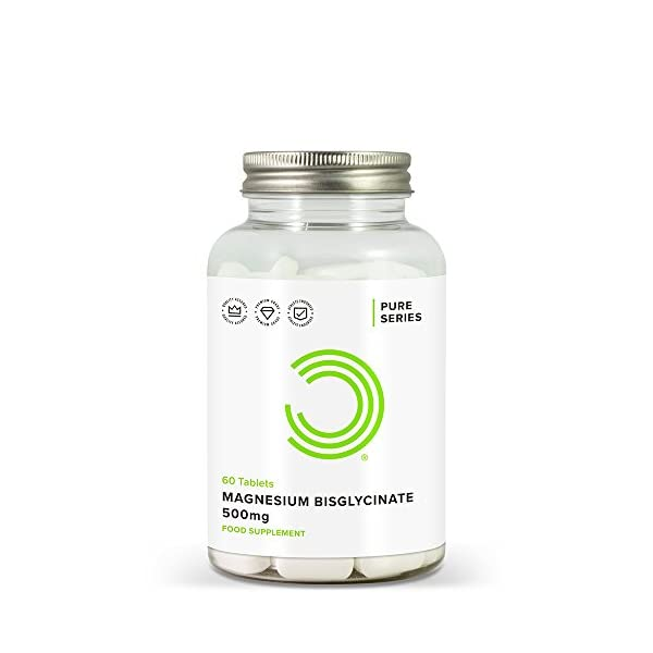 BULK-POWDERS-Magnesium-Bisglycinate-Tablets-500-mg-Pack-of-60