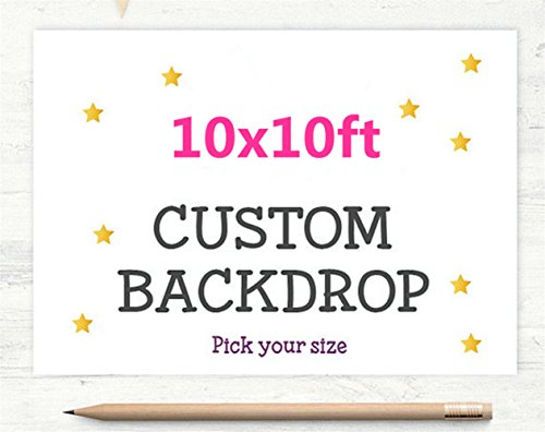 Photography Backdrop 10x10 Large Photography Backgrounds Backdrops Seamless Cloth Backdrops Personalized Images -