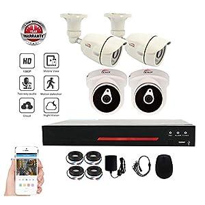 UKPlus 1080P 4CH Home Security Camera System