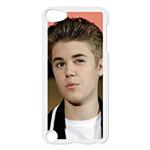 iPod Touch 5 Case White Justin Bieber Cell Phone Case Cover U5F6QV
