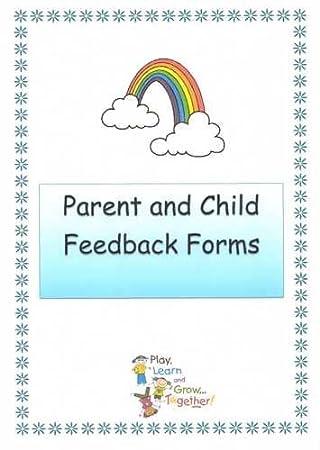 Eyfs childminder parent child feedback forms amazon office eyfs childminder parent child feedback forms maxwellsz