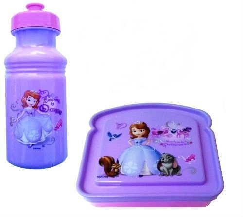 Exclusive Disney's Sofia the First Princess 2-piece Lunch - Sofia Princess Lunch Box