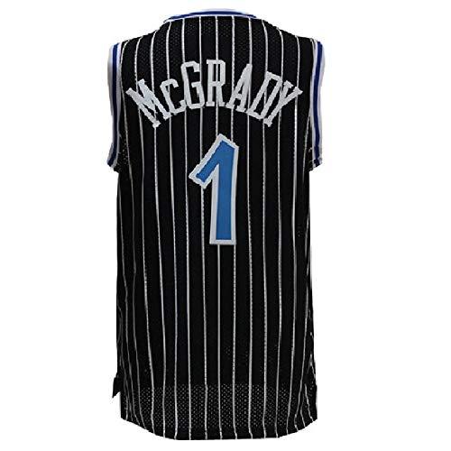 (Noosbre Men's McGrady Retro Jersey Tracy Athletics Jersey Orlando Basketball #1 Jerseys (S-XXL) (L,)