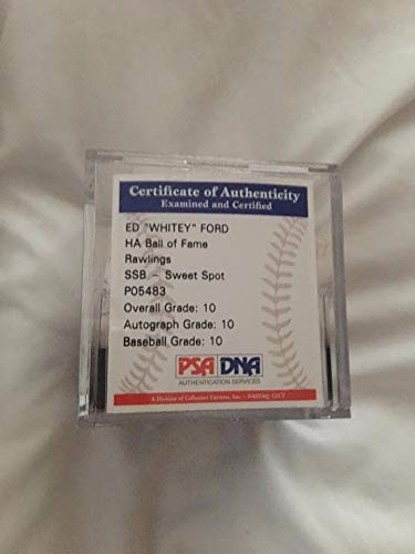 MLB Yogi Berra Autographed Signed Autograph MLB Baseball Or Whitey Ed Ford MLB Autographed Signed Autograph Baseball