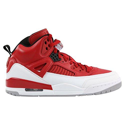 Jordan Nike Herren Spizike Basketballschuh Gym Rot / Weiß / Schwarz / Wolf Grey