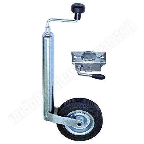 150/kg per rimorchio per auto supporto carrellino Winterhoff Carrellino con ruotino di sostegno e cuscinetto di spinta