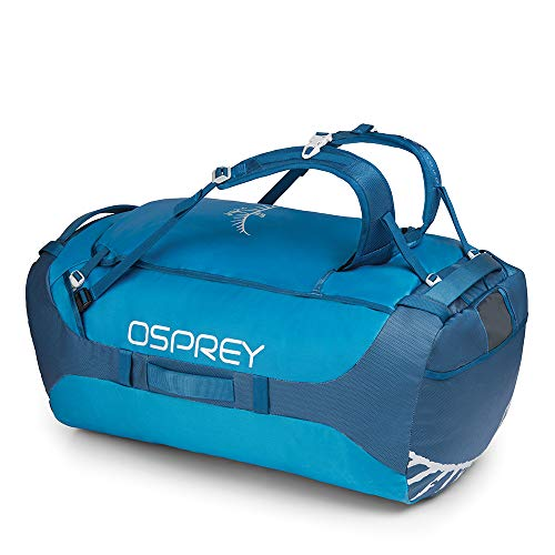 Osprey Packs Transporter 130 Expedition Duffel, Kingfisher Blue, One ()