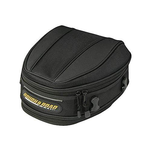 (miniflower Motorcycle Tail Bag Waterproof Tear-Resistant Durable Industrial Grade Ballistic Nylon Multifunctional Bag Motorbike Accessories for Universal Fit)