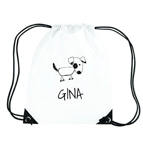 JOllipets GINA Turnbeutel Sport Tasche PGYM5387 Design: Hund