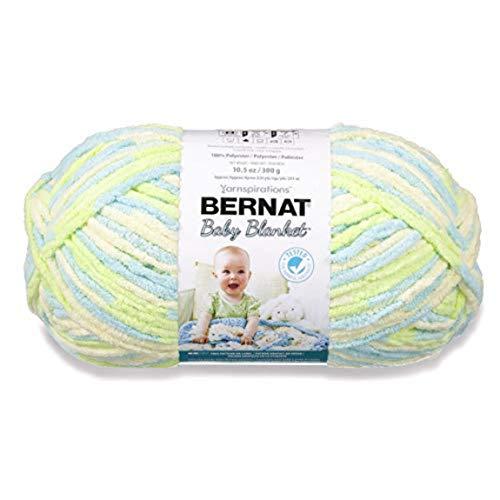 Bernat Baby Blanket Big Ball Baby Dinosaur (Best Yarn For Blanket Knitting)