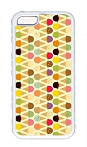 Colorful Little Ice Cream Pattern Theme for iphone 5c Case