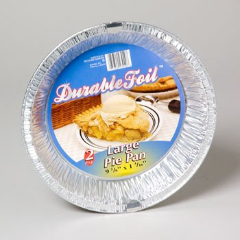 Large 10 Inch Foil Pie Pan Case Pack 54 by DDI