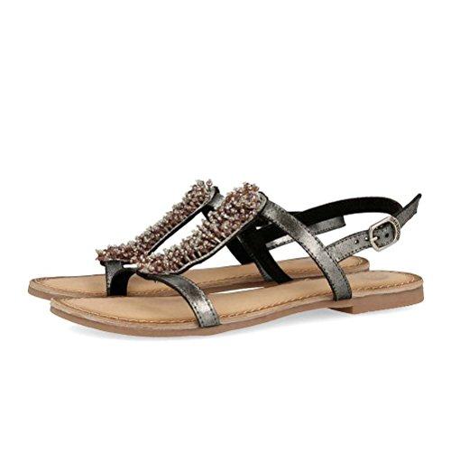 Gioseppo Grigio Grigio Sandalo Black Sandalo Gioseppo Gioseppo Sandalo Black 45308 45308 7rxOvFq7