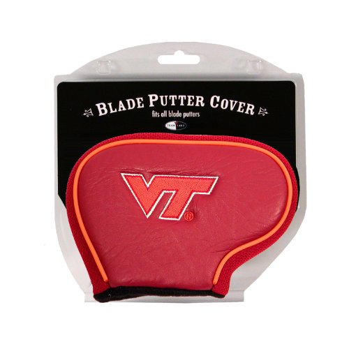 Virginia Tech Hokies Golf Putter - Team Golf NCAA Virginia Tech Hokies Golf Club Blade Putter Headcover, Fits Most Blade Putters, Scotty Cameron, Taylormade, Odyssey, Titleist, Ping, Callaway