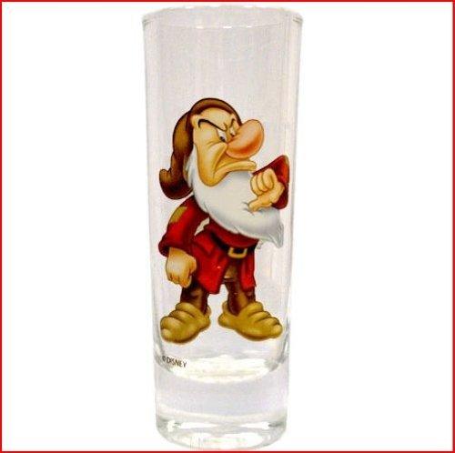 1 X Disney's Grumpy Straight-Sided Shot Glass :