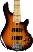 Lakland Skyline Series 55-01 5-Strings Bass Guitar, Three Tone Sunburst