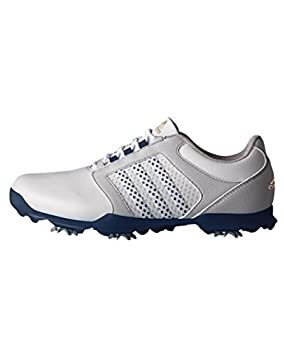 new arrival 2a68a 29a9d adidas W Adipure Tour, Women Golf shoes, Grey   Blue, 4 UK (