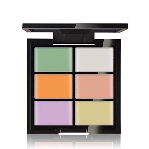 CCbeauty Cream Concealer Contour Palette Makeup Highlighter and Makeup Color Face & Eye Dark Circle Corrector Kit (Light)