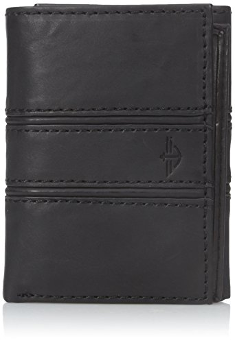 dockers-mens-warren-trifold-wallet-black-one-size
