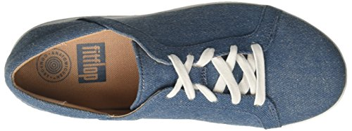 Para blue sporty Mujer Fitflop Azul Lace Chanclas 533 Ii Shimmer Up F denim RxFqY